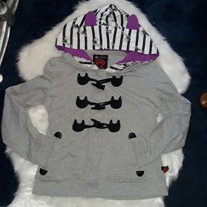 Azona A02 custom made cat sweatshirt w ears